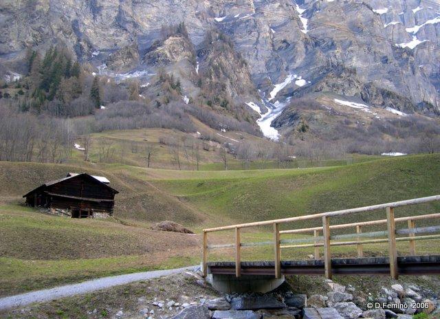 Mountain landscape (Leukerbad, Switzerland, 2006)