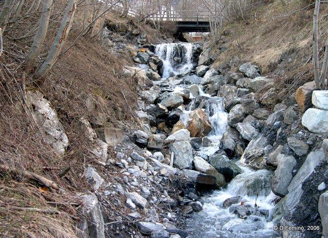 Stony stream (Leukerbad, Switzerland, 2006)