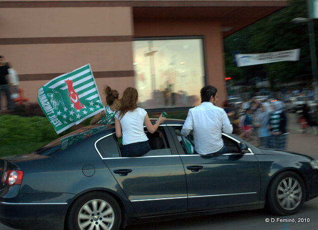 Out of the windows (Bursa, Turkey, 2010)