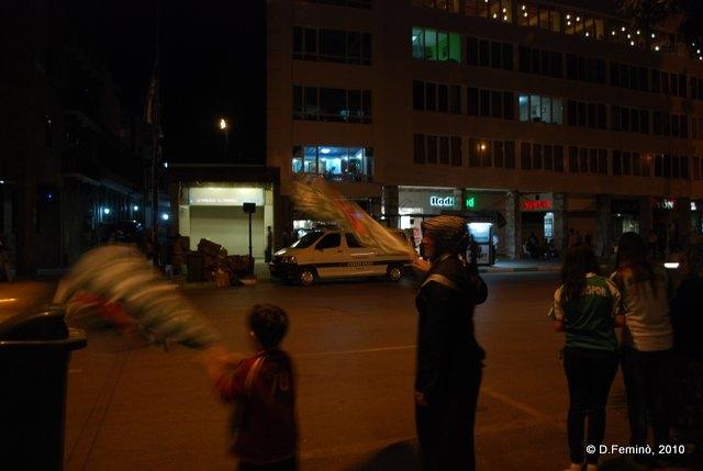 Celebrating in the street (Bursa, Turkey, 2010)