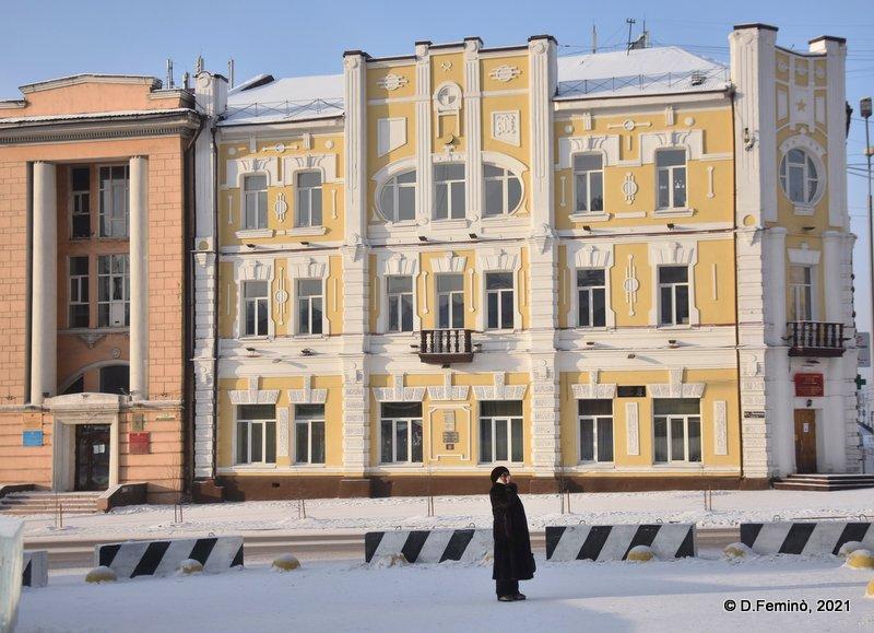 Building in Lenin Street (Ulan-Ude, Russia, 2021)