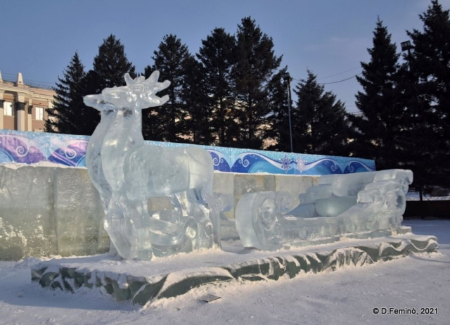 Ice sled (Ulan-Ude, Russia, 2021)