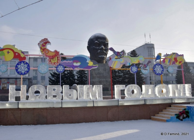 Monument to Lenin (Ulan-Ude, Russia, 2021)