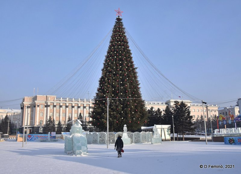 Christmas Tree (Ulan-Ude, Russia, 2021)