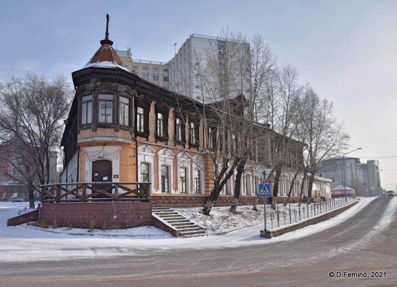 Urban landscape (Ulan-Ude, Russia, 2021)