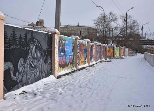 Wall paintings (Ulan-Ude, Russia, 2021)