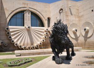 Lion 2 by Ji Yong-Ho (Yerevan, Armenia, 2013)