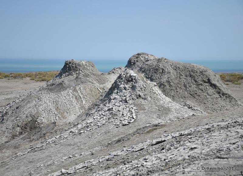 Clay mud volcanos (Qobustan, Azerbaijan, 2013)