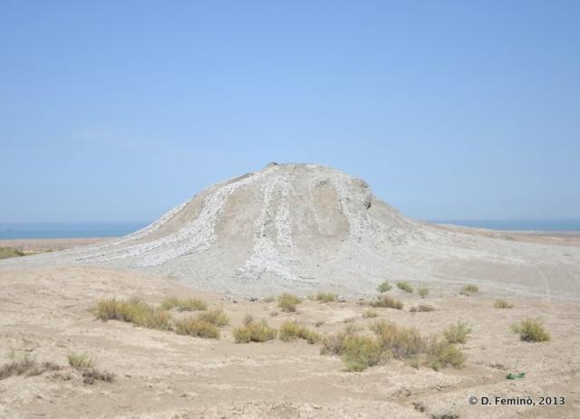 A consolidated mud volcano (Qobustan, Azerbaijan, 2013)