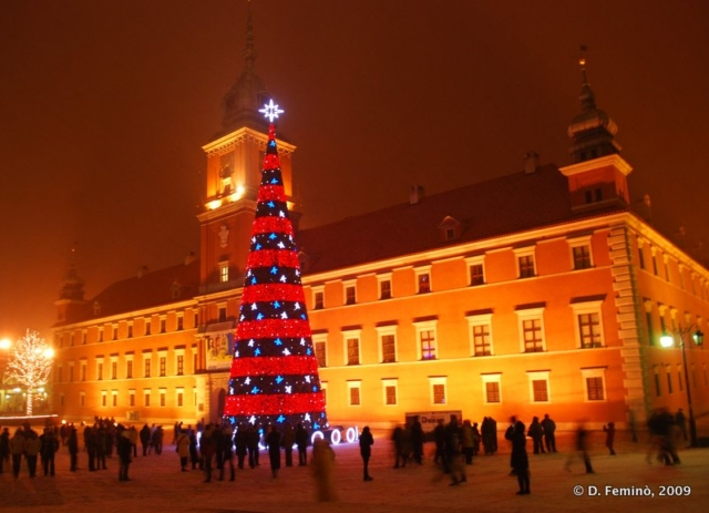 Royal Palace at Christmas Time (Warsaw, Poland, 2007)