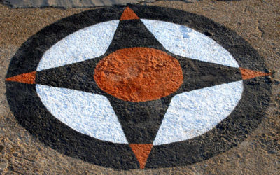 Painted Compass (Bozcaada, Turkey, 2010)