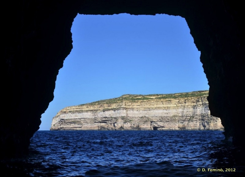 Cave in Dwejra bay (Gozo, Malta, 2012)