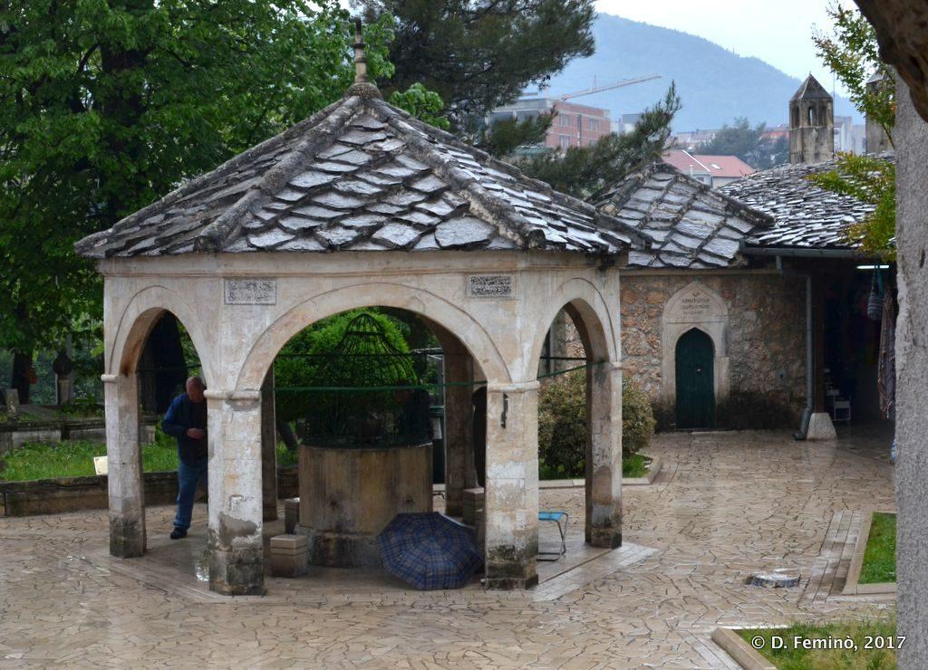 Koski Mehmed Pasha Mosque courtyard (Mostar, Bosnia, 2017)