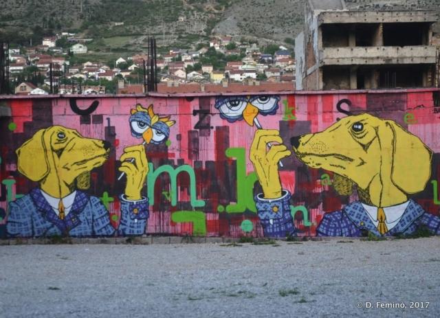 Murales (Mostar, Bosnia, 2017)