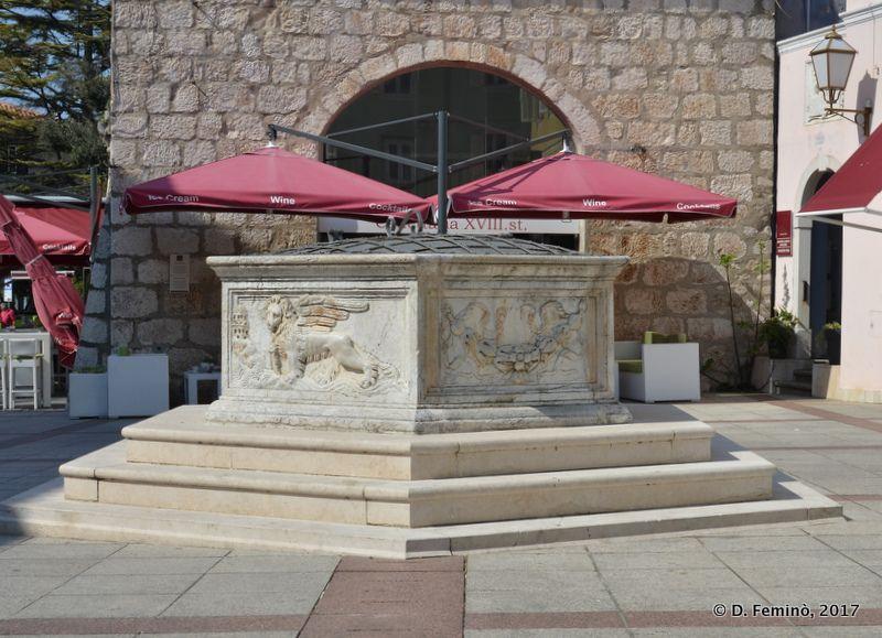 Marble fountain (Krk, Croatia, 2017)