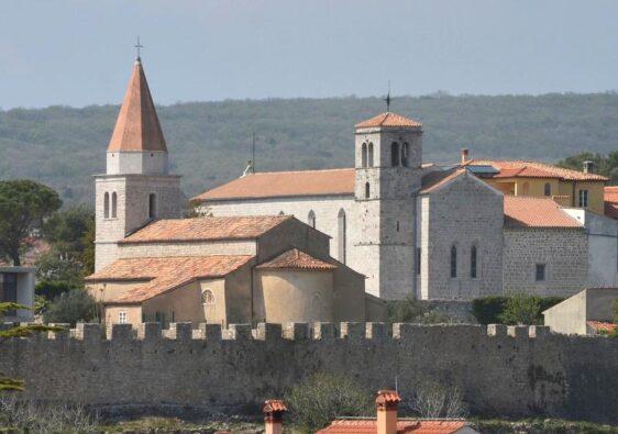 Church of our Lady of health (Krk, Croatia, 2017)