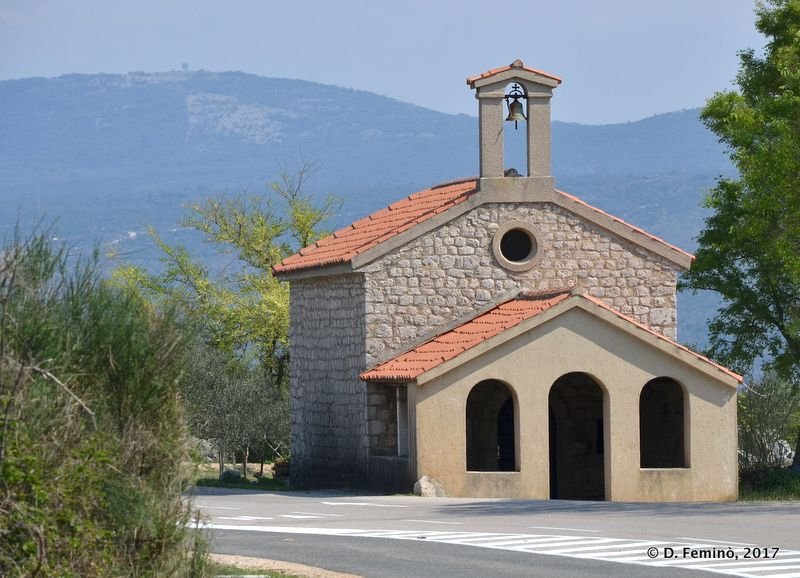 Saint Lucy chapel (Krk, Croatia, 2017)