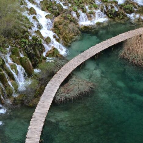 Plitvice Lakes: Day one