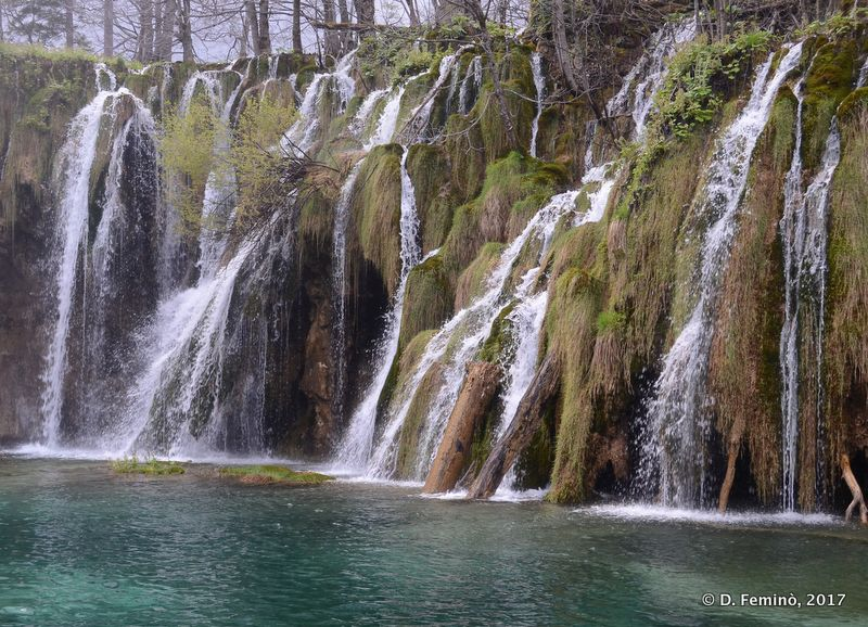 Waterfall (Plitvice, Croatia, 2017)
