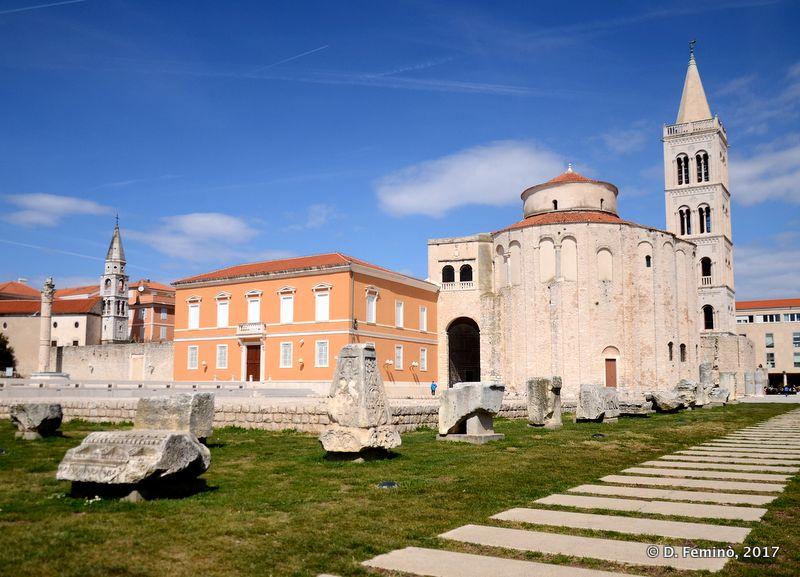 Church of St. Donatus and bell tower (Zadar, Croatia, 2017)