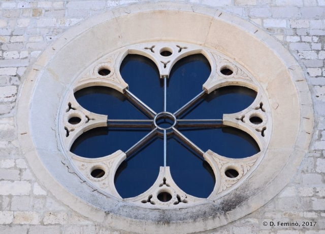 Rose window (Zadar, Croatia, 2017)