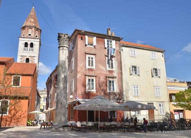 Petra Zoranića square (Zadar, Croatia, 2017)