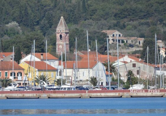 The town from the sea (Preko, Croatia, 2017)