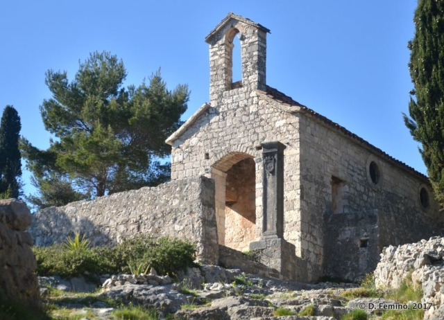 Church of our Lady of Kruvenica (Hvar, Croatia, 2017)