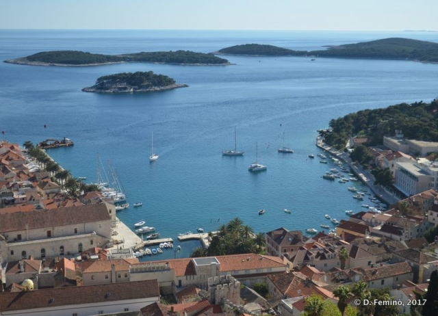 View of the harbour (Hvar, Croatia, 2017)
