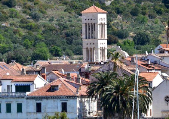 View of the town (Hvar, Croatia, 2017)