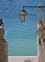 Street and sea