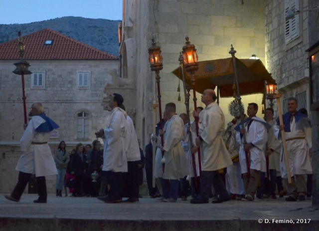 Procession (Korčula, Croatia, 2017)
