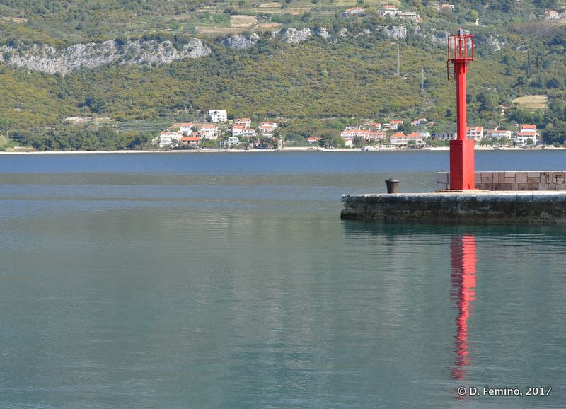 Dock (Korčula, Croatia, 2017)