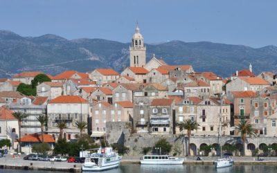 View of Korčula