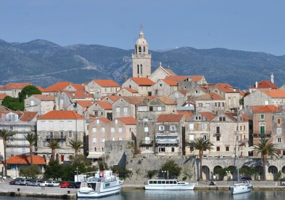 View of Korčula