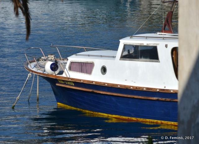 Boat (Korčula, Croatia, 2017)