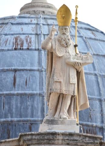 St Blaise Statue (Dubrovnik, Croatia, 2017)