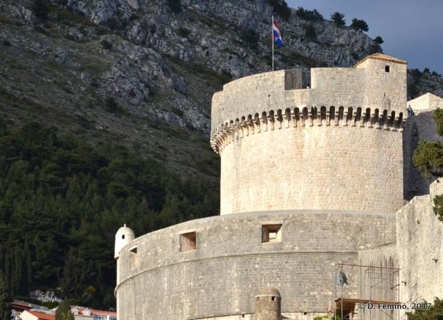 Fort Minčeta (Dubrovnik, Croatia, 2017)