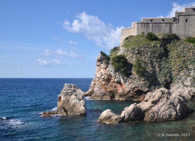 Coast in the Dubrovnik (Croatia, 2017)