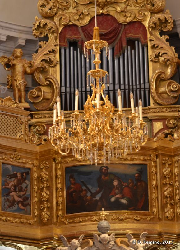 Interiors of St Blaise Church (Dubrovnik, Croatia, 2017)
