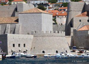 Walls over the sea (Dubrovnik, Croatia, 2017)