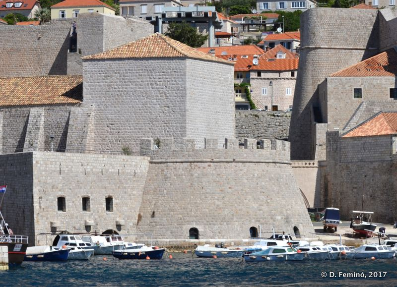 Walls over the sea (Dubrovnik, Croatia, 2017)