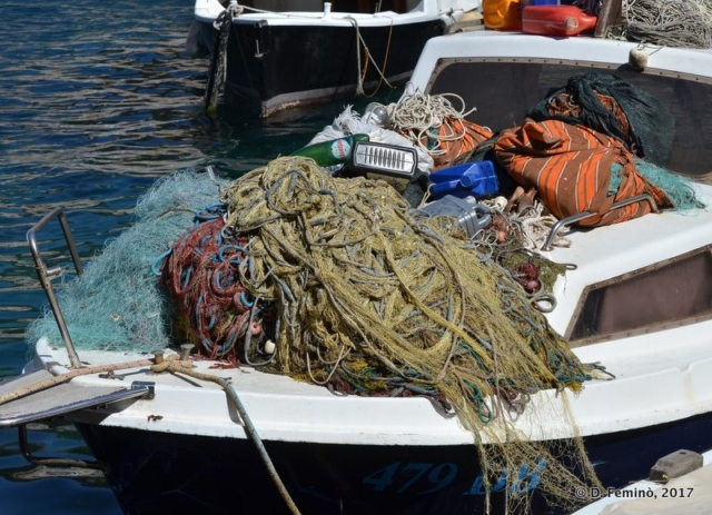 Fishing nets (Dubrovnik, Croatia, 2017)