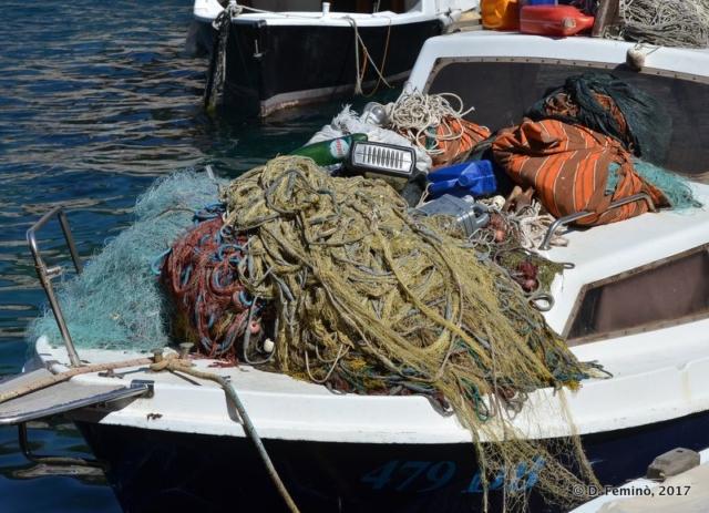 Fishing nets (Dubrovnik, Croatia, 2017)