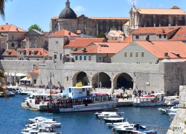 View of the Arsenal (Dubrovnik, Croatia, 2017)