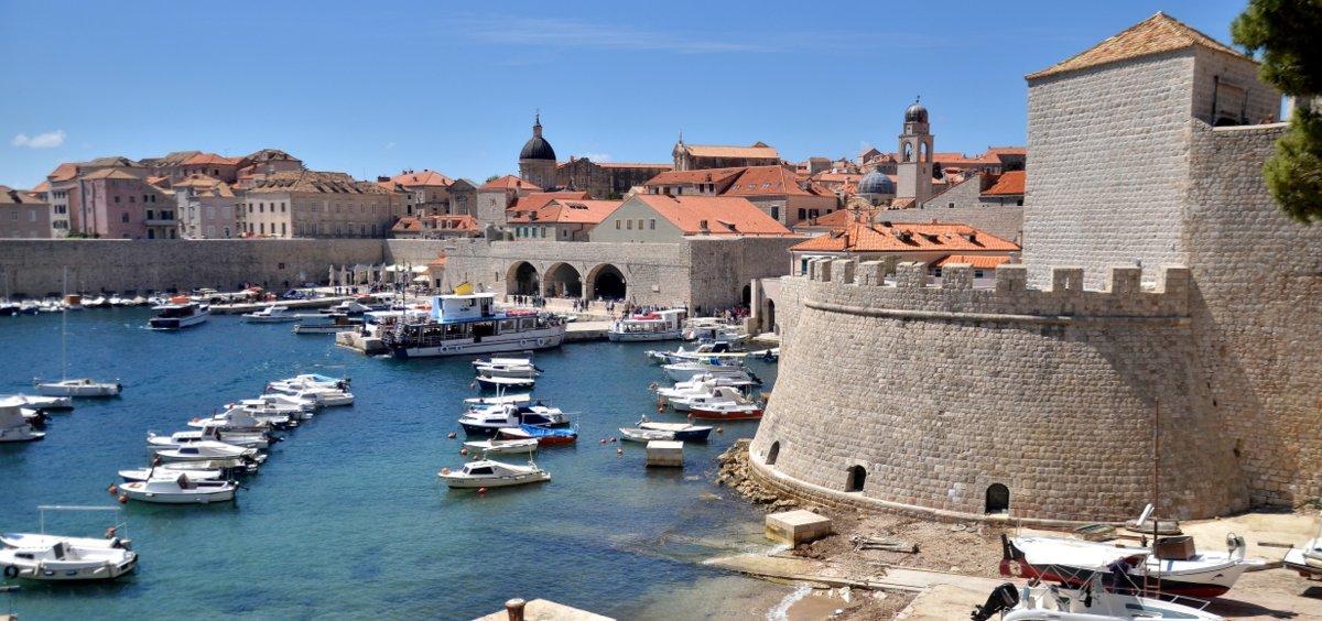 Old harbour of Dubrovnik (Croatia, 2017)