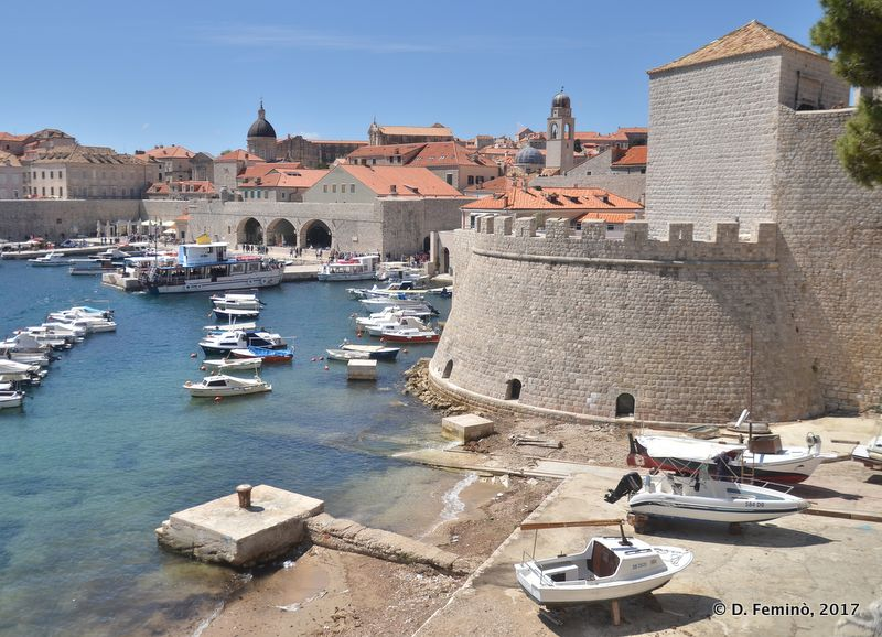 Old port (Dubrovnik, Croatia, 2017)