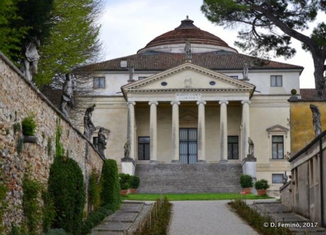 La rotonda by Palladio (Vicenza, Italy, 2017)