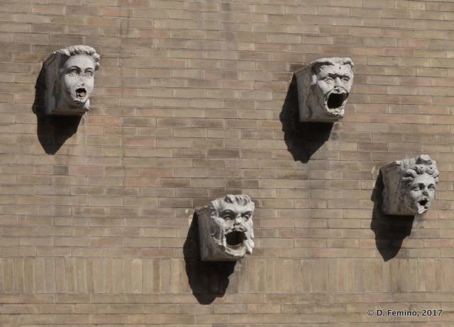 Disquieting masks (Padua, Italy, 2017)