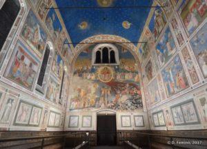 Scrovegni chapel (Padua, Italy, 2017)